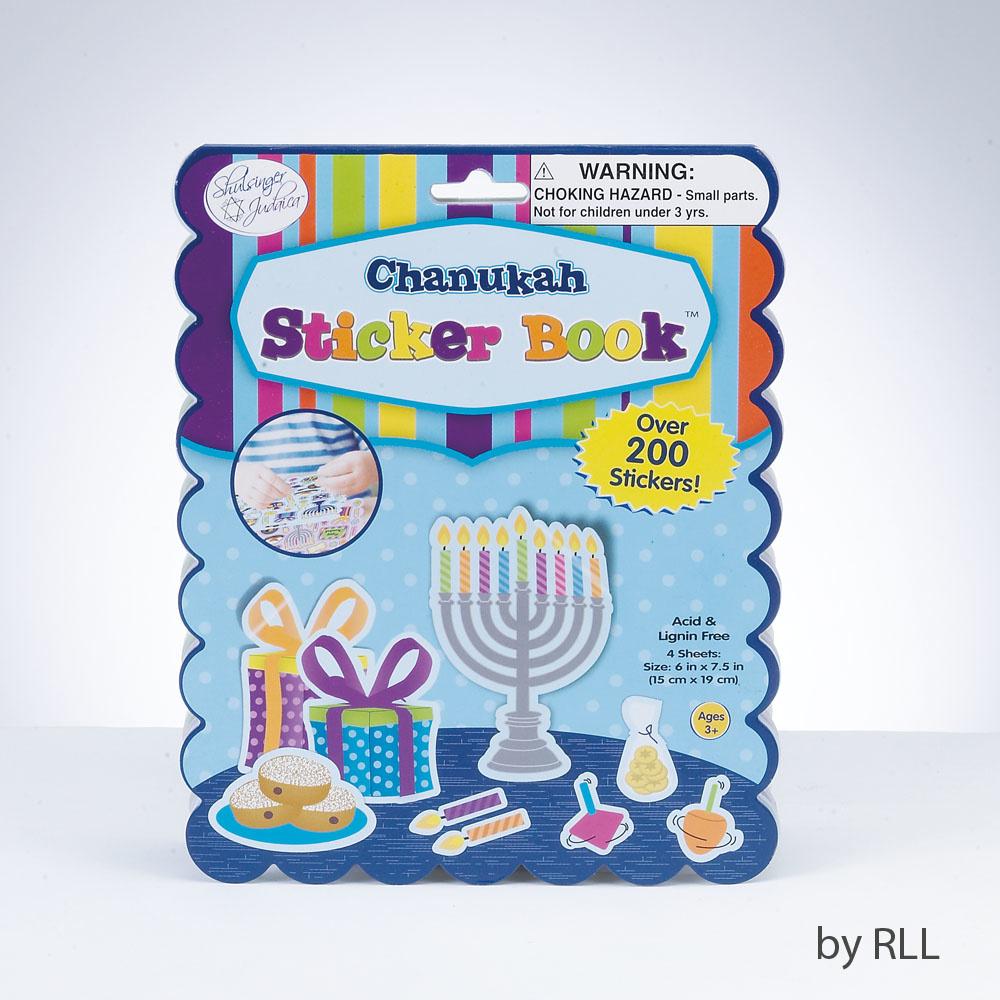Rite Lite LTD. Chanukah Sticker Book