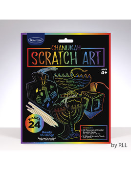 Rite Lite LTD. Chanukah Scratch Art