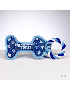"Rite Lite LTD. Chewdaica Chanukah Dog Toy ""My Chanukah Treat"""