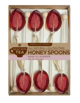 Melville Candy Honey Lavender Spoons - 6 Pack