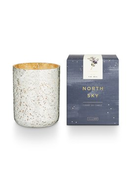Illume North Sky Small Luxe Sanded Mercury Glass Candle