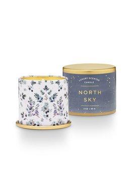 Illume North Sky Demi Tin Candle