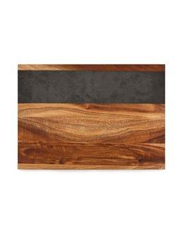 True Wood with Slate Cheeseboard