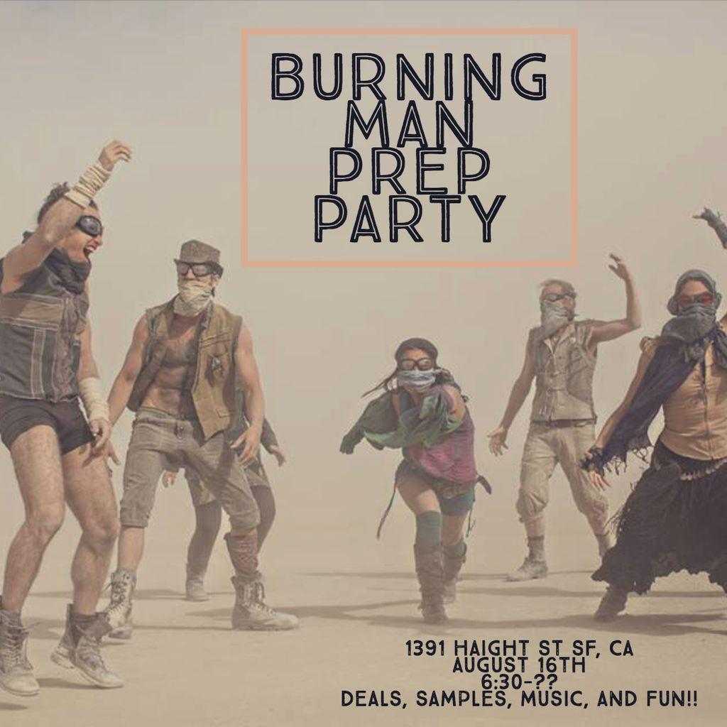 Burning Man Prep Party