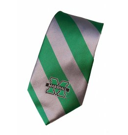 Marshall University Rep Stripe Tie
