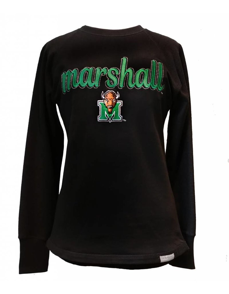 Marshall University Ladies Reverse Crew