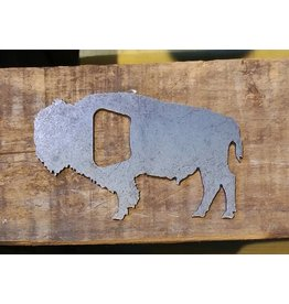 Iron Maid Art Iron Maid Bison Steel Bottle Opener