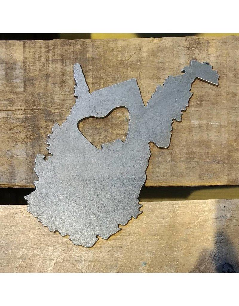 Iron Maid Art Iron Maid West Virginia Bottle Opener