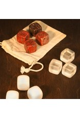 Red Jasper Whiskey Stones