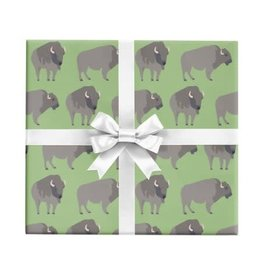Buffalo Wrapping Paper by the Sheet