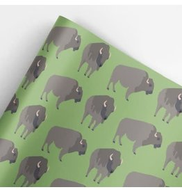 Buffalo Roll Gift Wrap
