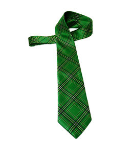 Marshall University Tartan Tie-Extra Long