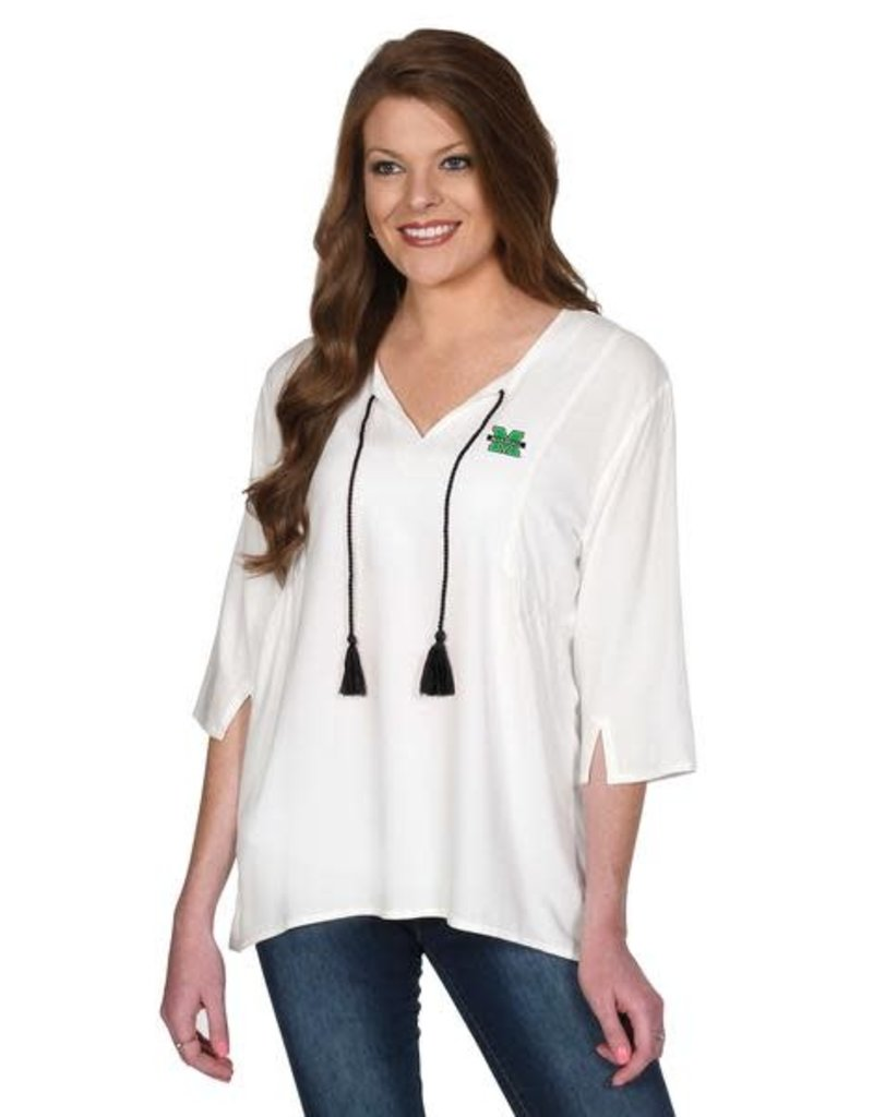 Marshall UG Apparel Tassel Tunic