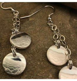Making Cent$ WV Quarter Silver 2 Dangle Earrings