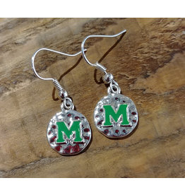Nitro USA Marshall Hammered Charm Earrings