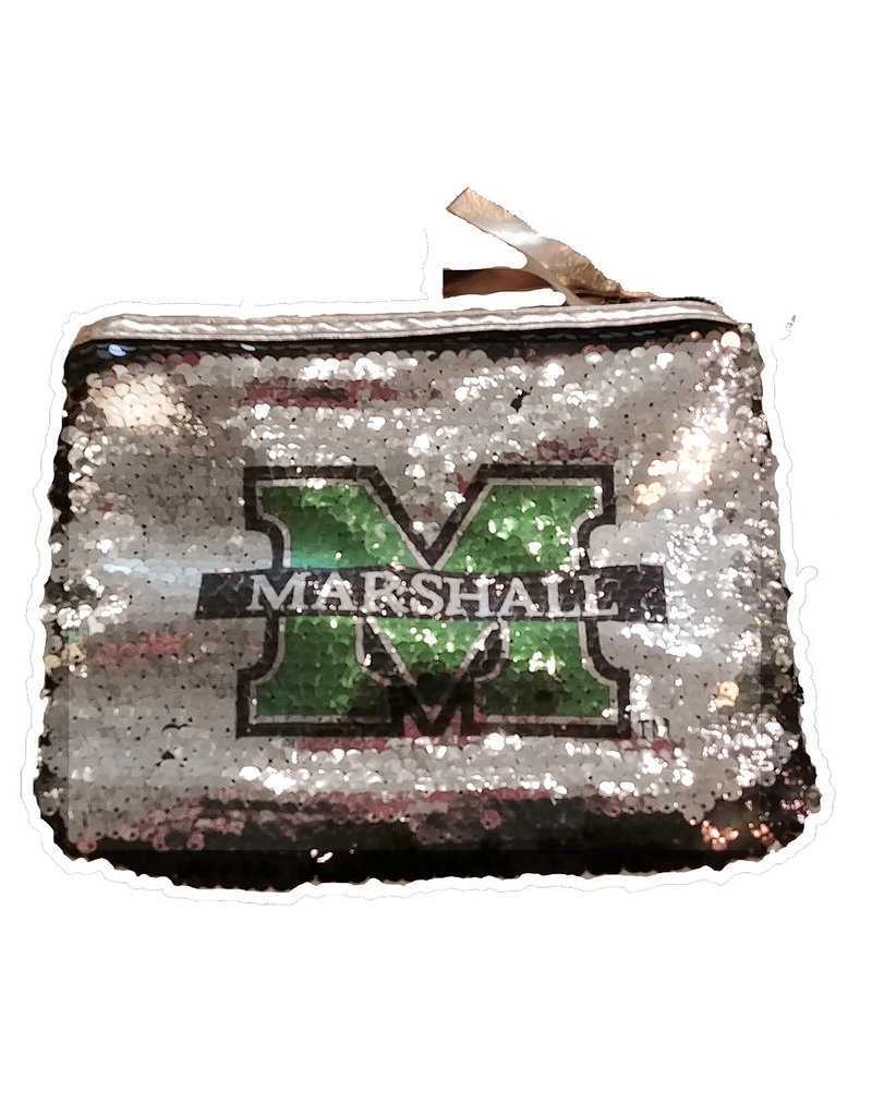 Marshall Reverse Sequin Accessory Bag