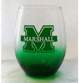 Marshall Green Stemless Wine Glass
