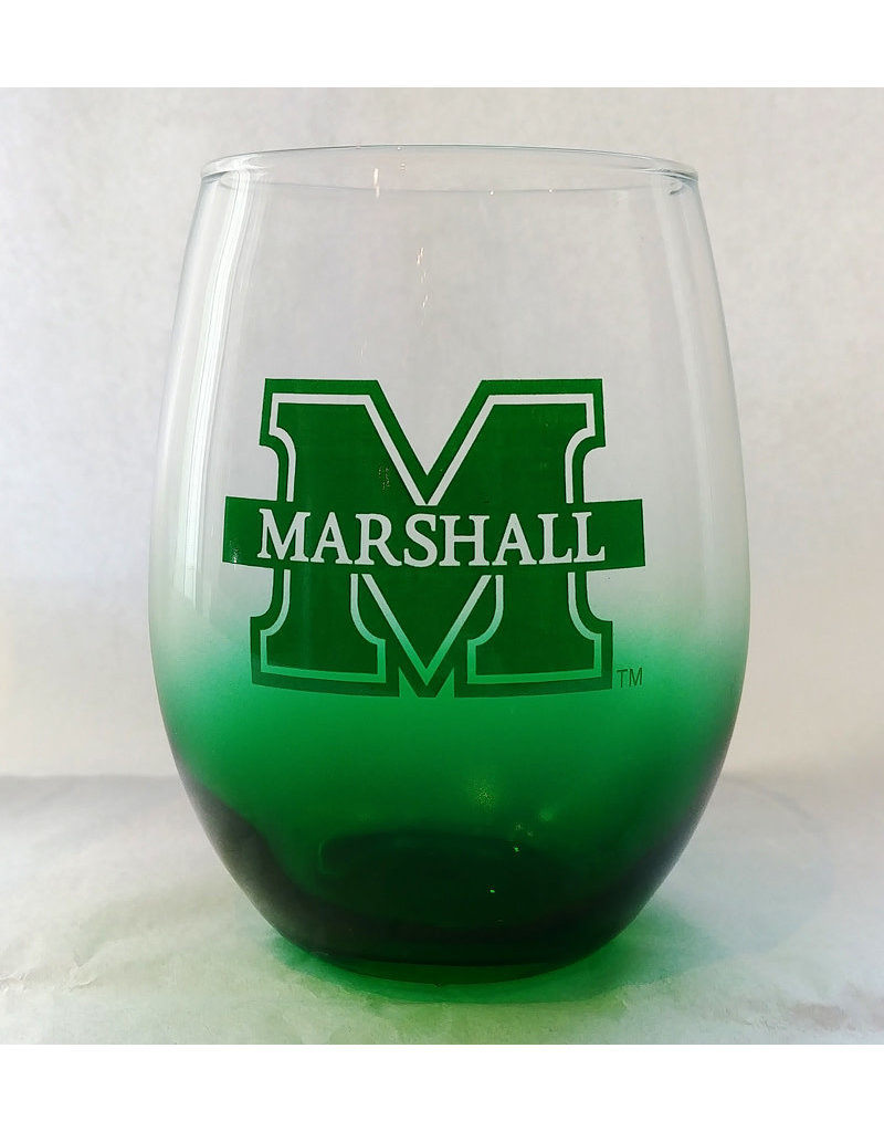 Marshall Green Stemless Wine Glass