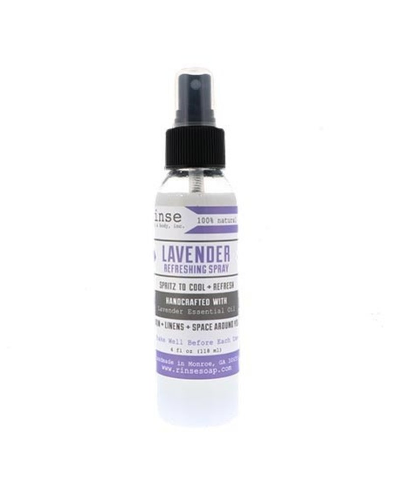 RINSE Lavender Refreshing Spray