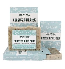 RINSE Mini Soaps-Frosted Pine Cone