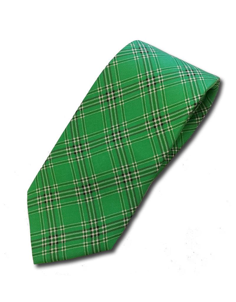 Marshall University Tartan Silk Necktie