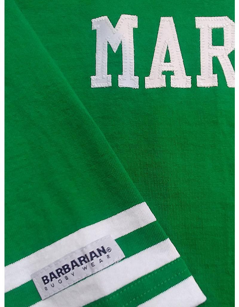 Barbarian Marshall Classic Ladies Crew 3/4 Sleeve Top