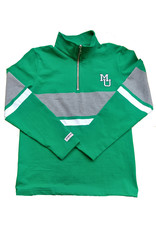 Barbarian Marshall Stacked Casual Quarter Zip Rugby