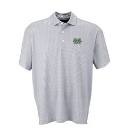 Marshall University Vansport™ Pro Mini-Gingham Polo