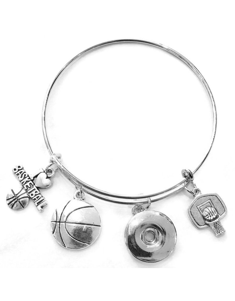 Basketball Snap Bangle
