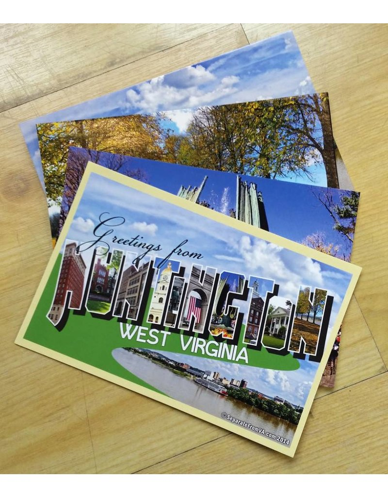 Huntington, WV Postcard Set