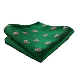 Campus Squirrel Pocket Square