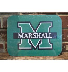 Marshall University Medium Glass Cutting Board