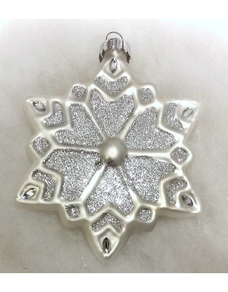 Marshall University Snowflake Ornament