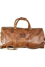 Marshall University Westbridge Large Leather Duffel