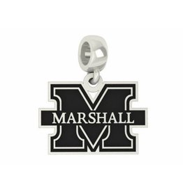 Collegiate Bead Company Marshall University Cut Out Dangle Bead