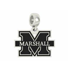 Collegiate Bead Company Marshall University Cut Out Dangle Bead