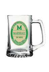 Marshall University 25 oz Glass Tankard