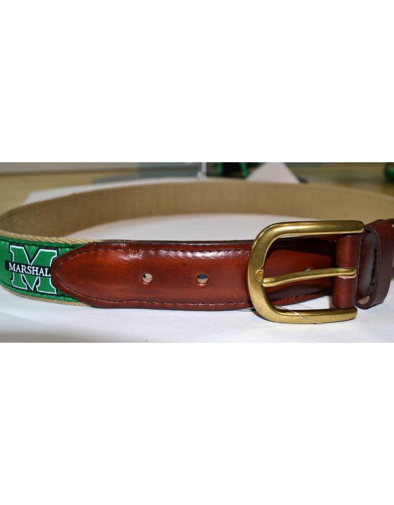 Marshall University Men's Ribbon Belt