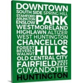 Huntington Neighborhoods Canvas