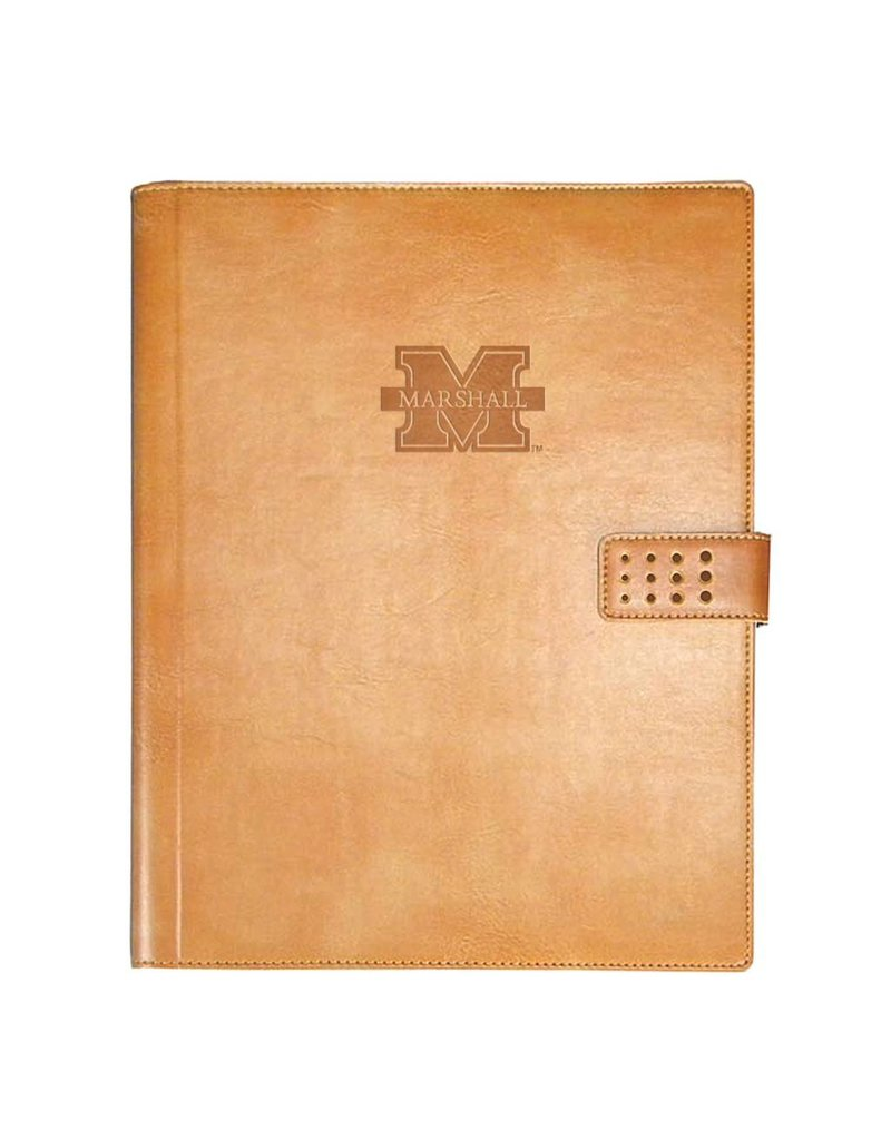 Marshall University Italian Leather Padholder