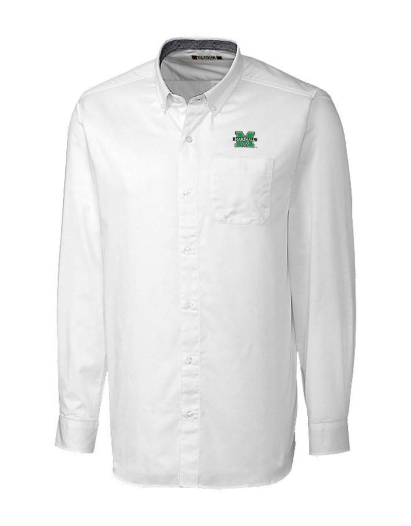 Marshall University Men's Bergen Dress Shirt