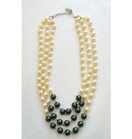 Gameday Color Pearl Necklace by Julio