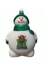 Marshall University Snowman Christmas Ornament