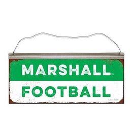 Marshall University Football Tin Sign