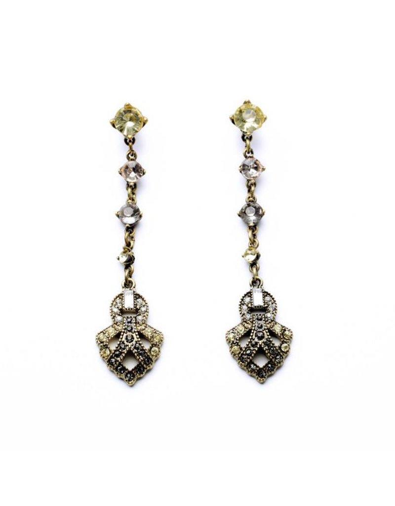 Mary & Millie Vanessa Deco Earrings