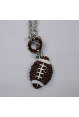 Football Toggle Necklace