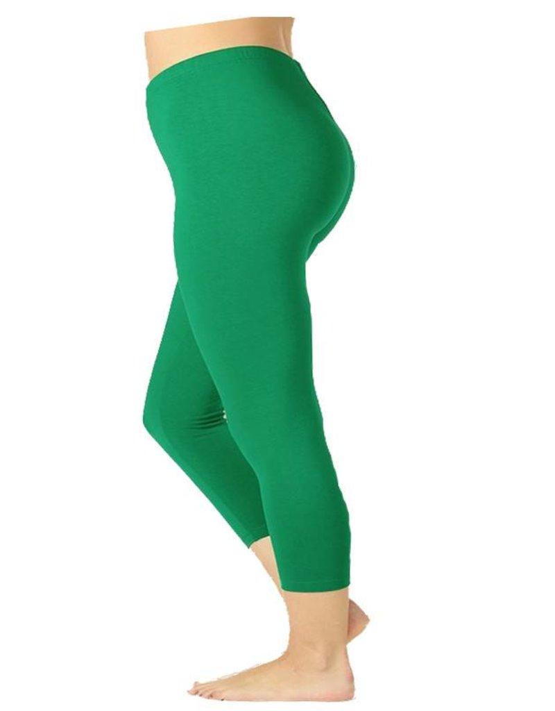 Kelly Capri Leggings-Plus
