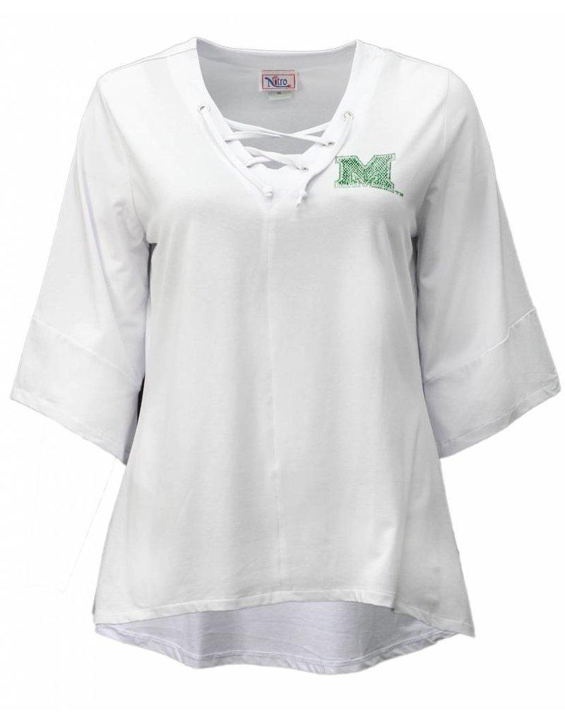 Marshall University Lace-Up Tunic