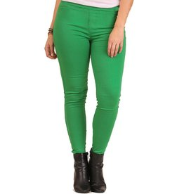 Green Jeggings-Plus
