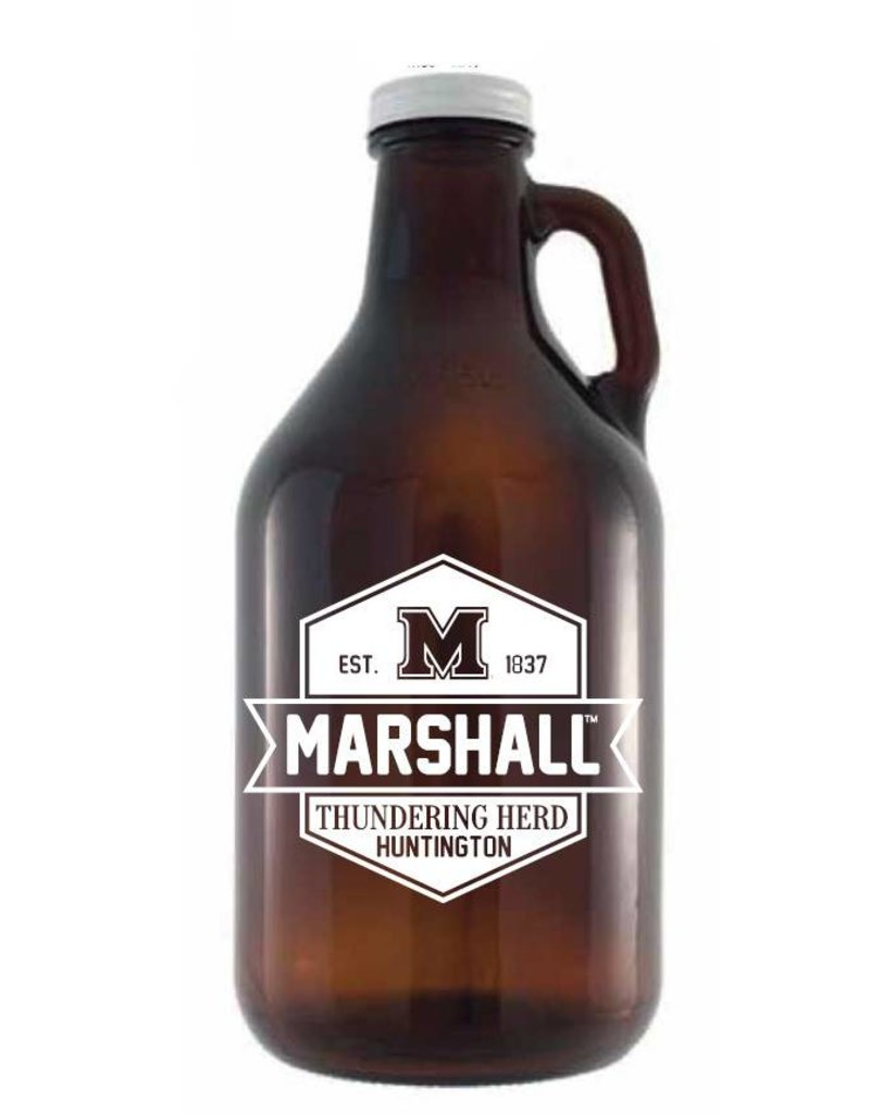 Marshall University 64oz Growler